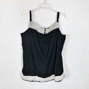 (4 for $25) Gap Black and White Tank Size XL
